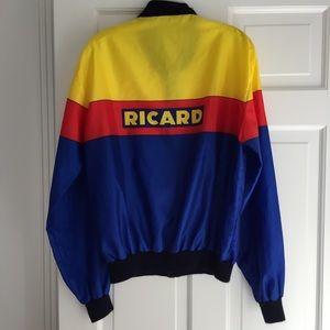 Vintage Ricard fanimation windbreaker jacket